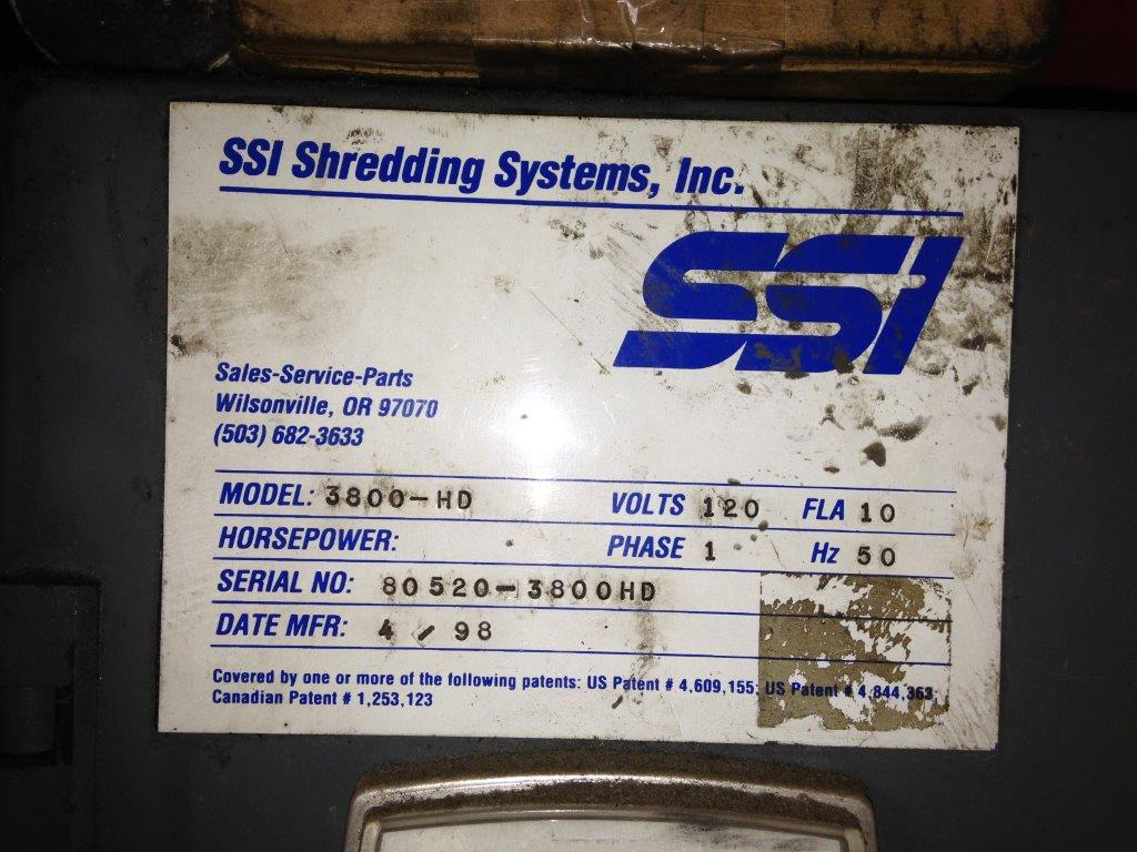 SSI Shredder 3