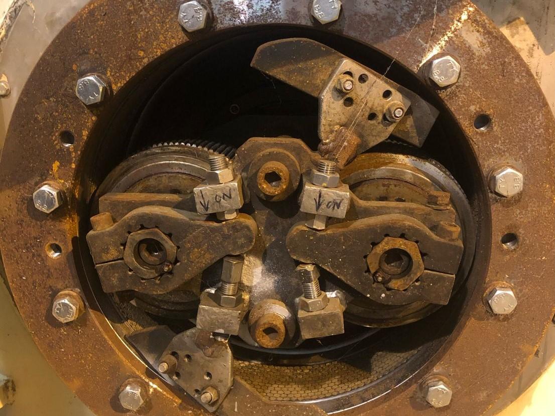 UsedBuhler Press 150 kw