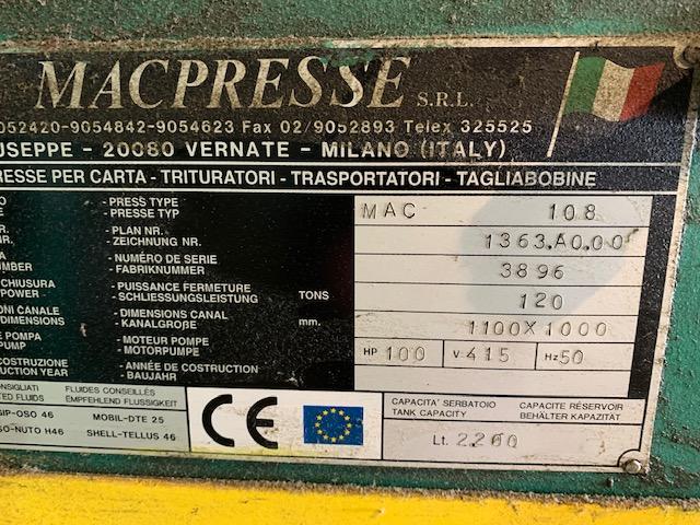 Macpresse 108 Baler 3